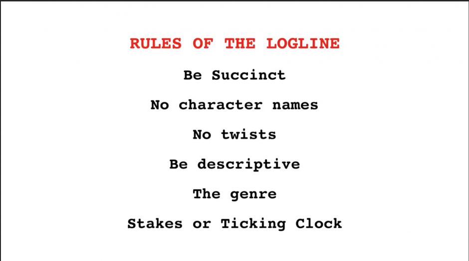 How to write a better logline for your screenplay by brian scott.